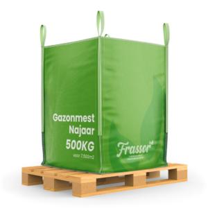 Gazonmest Najaar (Bigbag 500Kg – Voor 7500) Frassor